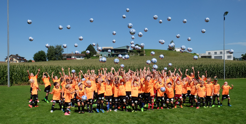 Raiffeisen Football Camp in Eschenbach